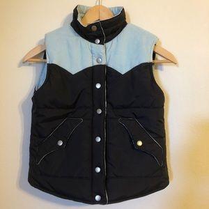 Roxy corduroy reversible vest. Small XS EUC